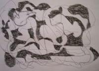 drawing, doodling, pencil drawing