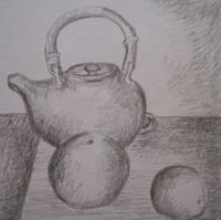 drawing, pencil drawing